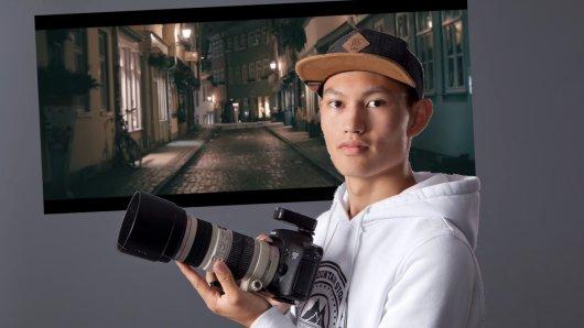 Johannes Li begeistert mit tollen Erfurt-Aufnahmen die Menschen im Lockdown.