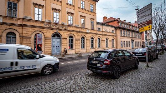 Weimar: Die Stadt testet derzeit ein neues Verkehrsschild. (Symbolbild)