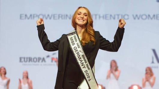 Die neue Miss Germany kommt aus Thüringen. Anja Kallenbach (33) ist eine echte Powerfrau.