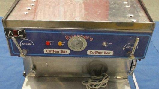 Flughafen Leipzig: In dieser Kaffeemaschine wird kein Kaffee gekocht.