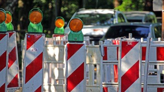 Eine Baustelle in Erfurt sorgt bereits für Frust – obwohl sie gerade einmal drei Tage steht. (Symbolbild)