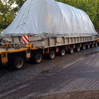 In Erfurt hat am Morgen ein Schwerlasttransport für erhebliche Behinderungen gesorgt. (Symbolfoto)