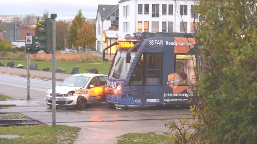 Straßenbahnunfall