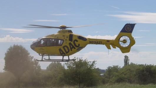 Ein 15-Jähriger hat in Thüringen so schwere Verletzungen erlitten, dass er in ein Krankenhaus geflogen werden musste.