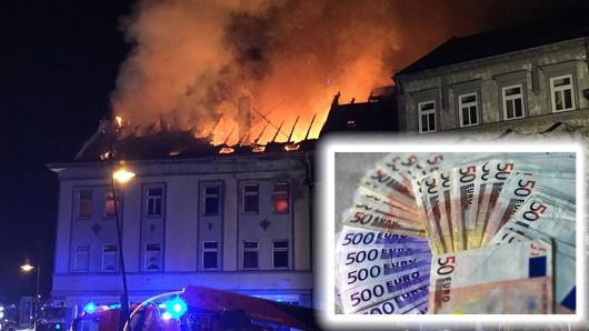 Die Versicherung hat zur Aufklärung des schweren Falls der Brandstiftung in Mühlhausen eine Belohnung von 25.000 Euro ausgesetzt.