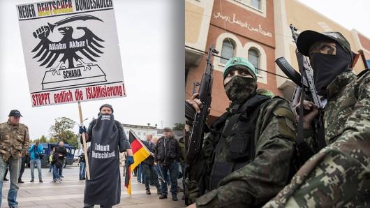 In einer Gesellschaft in denen Muslime sich nicht aufgenommen fühlen, erhöht sich laut Verfassungsschutzpräsident das Risiko der Radikalisierung.
