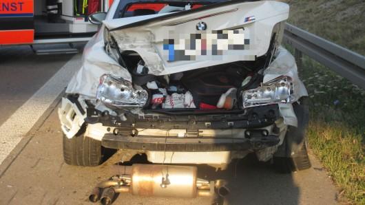 Kurze Unachtsamkeit hat auf der A9 bei Gösen zu einem Unfall geführt.