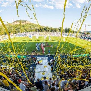 Der FC Carl Zeiss Jena hatte in der ersten Runde des DFB-Pokal am Sonntag (19.08.2018) Union Berlin zu Gast. Hier gibt's die Fotos vom Spiel!
