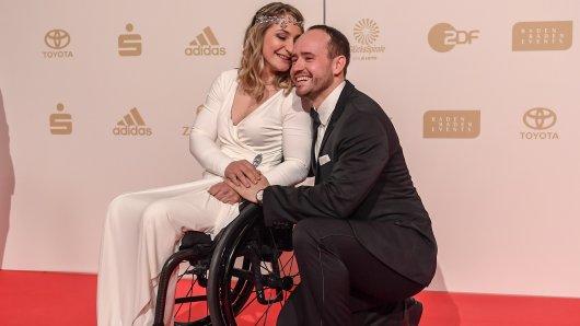 Radsportlerin Kristina Vogel vor der Wahl zum Sportler des Jahres am 16.12. mit ihrem Partner Michael Seidenbecher - zu Weihnachten darf sie wieder nach Hause.