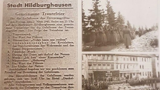 Ein Screenshot der NS-Anzeige  im Amtsblatt. Die Linken-Politikerin Katharina König-Preuss empörte sich auf Twitter.