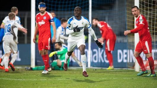28. Spieltag am 13.3.2019: FC Carl Zeiss Jena gegen Sportfreunde Lotte.