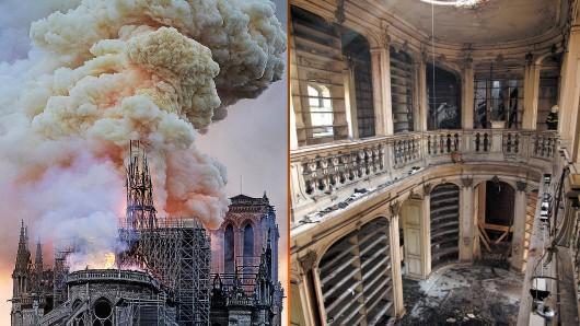 Wie der Brand bei der Anna Amalia Bibliothek - so meint Thüringens Regierungschef Bodo Ramelow zu der Feuerkatastrophe in Paris.