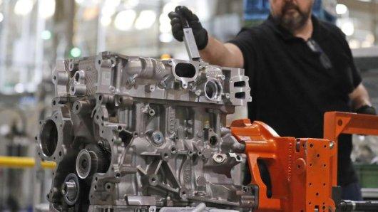 In Thüringen wächst die Industrie stark.