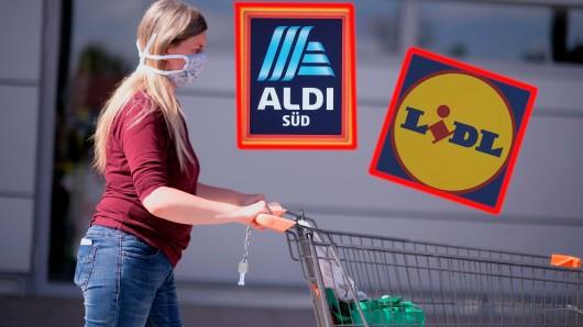 Aldi, Lidl und Co. müssen sich warm anziehen. Die Konkurrenz schläft nicht. (Symbolbild)