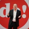 Olaf Scholz (SPD), Kanzlerkandidat und Bundesfinanzminister, spricht beim ersten digitalen Debattencamp der SPD.