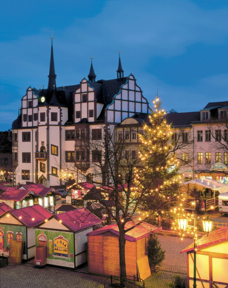 Suhl Weihnachtsmarkt.Die Schönsten Weihnachtsmärkte In Thüringen Hier Feiert Sich Die