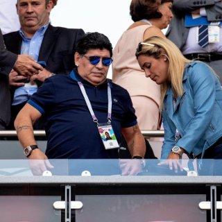 Die Fans des FC Carl Zeiss Jena haben Diego Maradona zum DFB-Pokal gegen Union Berlin eingeladen. (Archivfoto)