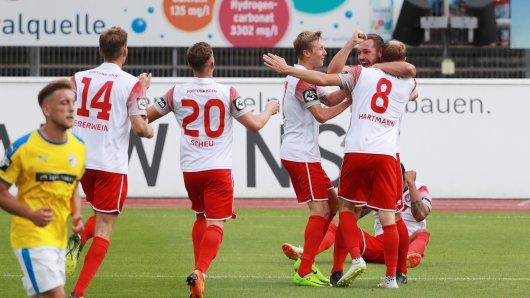 Der FC Carl Zeiss Jena musste sich Fortuna Köln geschlagen geben.