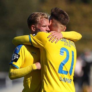 Der FC Carl Zeiss Jena gewinnt. (Symbolfoto)