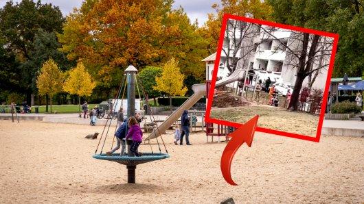 In Jena tauchten plötzlich ein paar Männer auf einem Spielplatz auf. (Symbolbild)