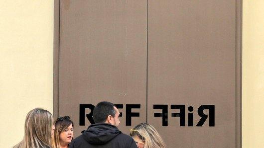 """Bis der Grund für die Lebensmittelvergiftungen gefunden ist, bleiben die Türen des """"Riff"""" vorerst geschlossen."""