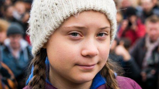 Greta Thunberg (16) bekommt eine Goldene Kamera in Berlin.