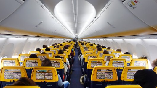Die Passagiere bei einem Ryanair-Flug erlebten einen Albtraum auf ihrem Rückflug nach Schottland.