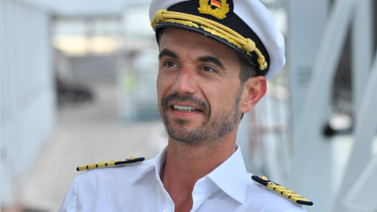 """""""Traumschiff"""": Florian Silbereisen ist der neue Kapitän."""