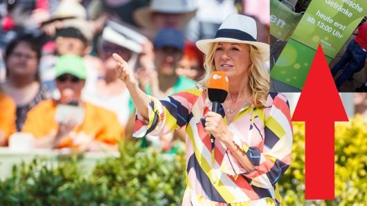 """""""Fernsehgarten"""": Vor dem Finale am Sonntag warnt das ZDF seine Zuschauer."""