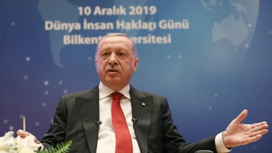 Türkei: Präsident Recep Tayyip Erdogan. Er steht (mal wieder) in der Kritik.