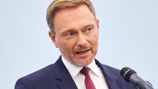 FDP-Chef Christian Lindner ließ eine Bombe platzen.