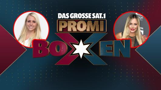 """Beim """"großen Sat.1-Promiboxen"""" treten am Freitagabend Carina Spack und Jade Übach gegeneinander an."""