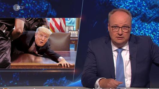 """""""Heute Show""""-Moderator Oliver Welke hat eine klare Meinung zur US-Präsidentschaftswahl, bei der Donald Trump auf eine Wiederwahl hofft."""