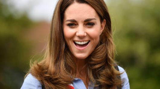 Kate Middleton erzählt mit einem Outfit von Prinz Louis eine besondere Geschichte.