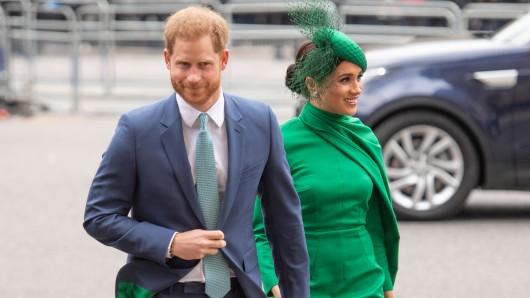 Prinz Harry und seine Meghan im März 2020.