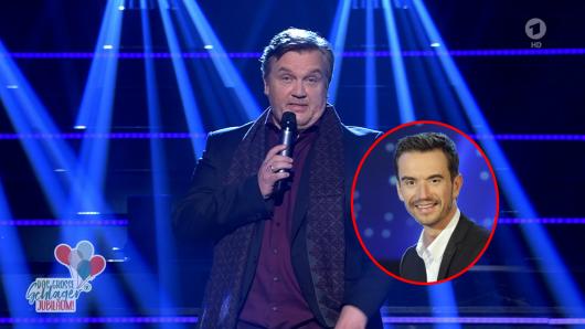 Hape Kerkeling feiert sein großes TV-Comeback bei Florian Silbereisen.