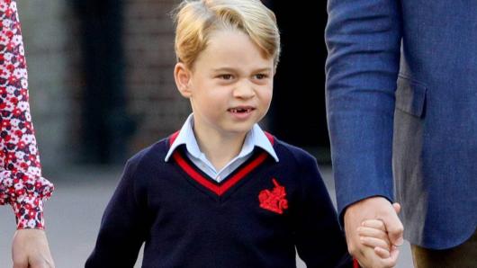 Der kleine Prinz George.