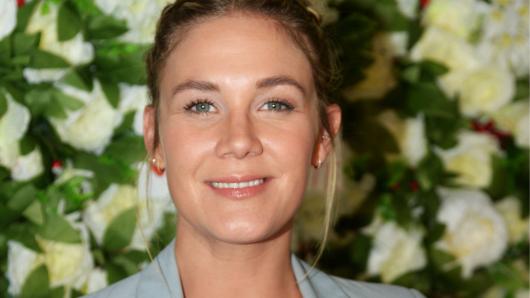 "Alina Merkau ist Moderatorin im Sat.1-""Frühstücksfernsehen""."
