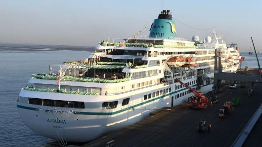 """Die als """"Traumschiff"""" bekannte MS Amadea."""