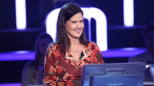 """Susanne Berthes bei """"Wer wird Millionär"""" (RTL)."""