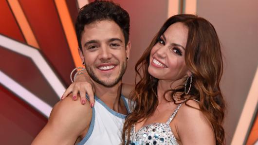 """Luca Hänni und Christina Luft lernten sich 2020 bei """"Let's Dance"""" kennen und lieben. Jetzt tanzt die 31-Jährige jedoch mit einem anderen Mann."""