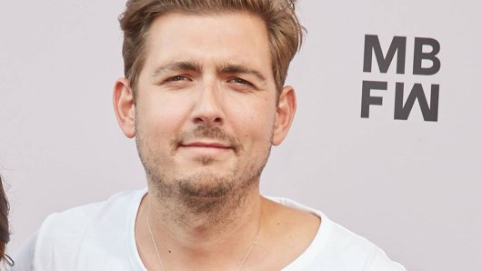 """""""Frühstücksfernsehen""""-Moderator Chris Wackert."""