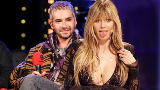 Heidi Klum präsentiert auf Instagram stolz ihre Brüste. Damit will sie ausgerechnet ihren Schwager Bill Kaulitz unterstützen.