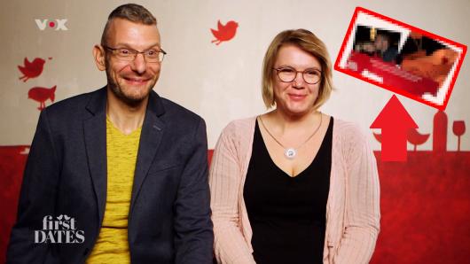 Dirk und Claudia lernten sich bei First Dates (Vox) kennen.