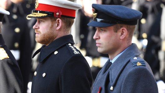 Royals: Harry und William werden sich bei Prinz Phillips Beerdigung erstmals seit dem Oprah-Interview wiedersehen.