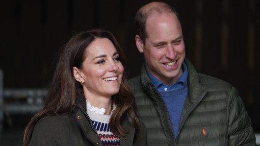 Kate Middleton und Prinz William.