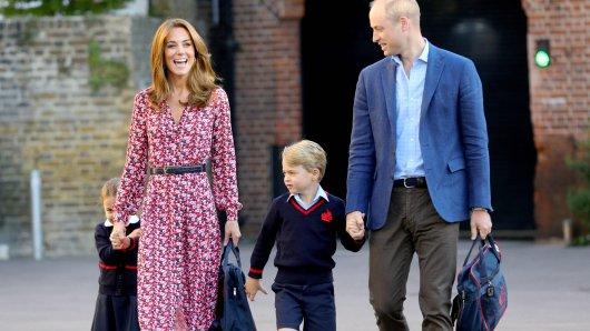 Zieht es Prinz George mit seiner Familie weg von London?