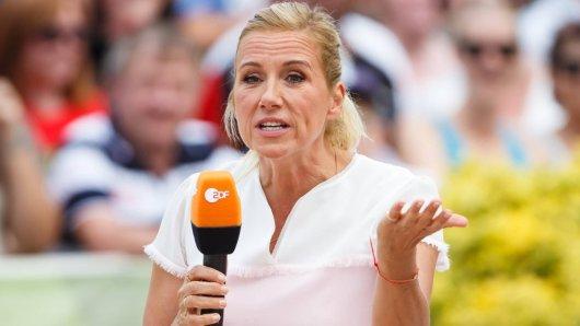 """""""Fernsehgarten""""-Moderatorin Andrea Kiewel hat in diesem Jahr nur noch eine Sendung zu moderieren."""