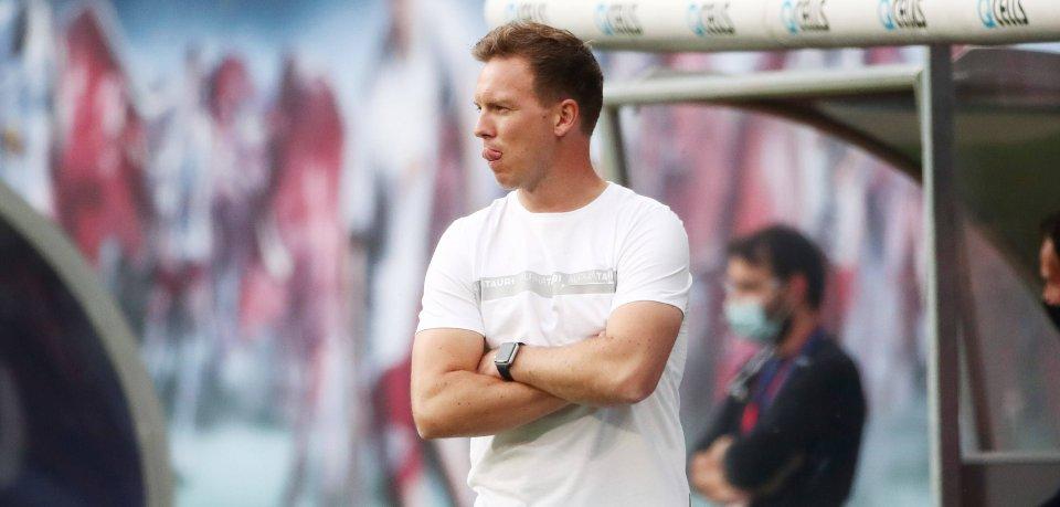 Julian Nagelsmann von RB Leipzig übt heftige Kritik an der DFL.