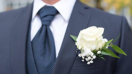 Hochzeit: Am schönsten Tag in seinem Leben hat ein Bräutigam einen regelrechten Schock erlitten.